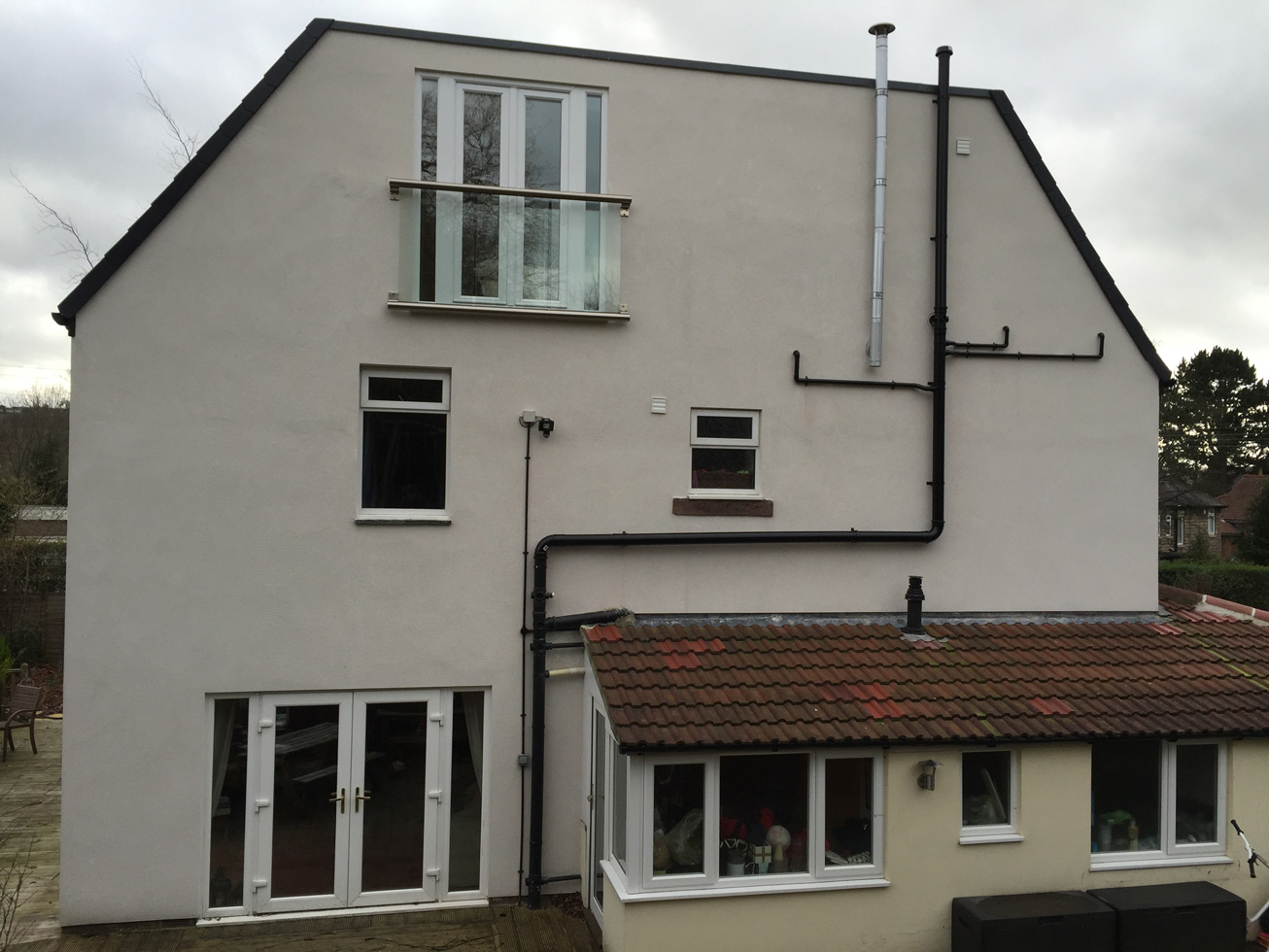 3rd Story Extension Master Bedroom Extension