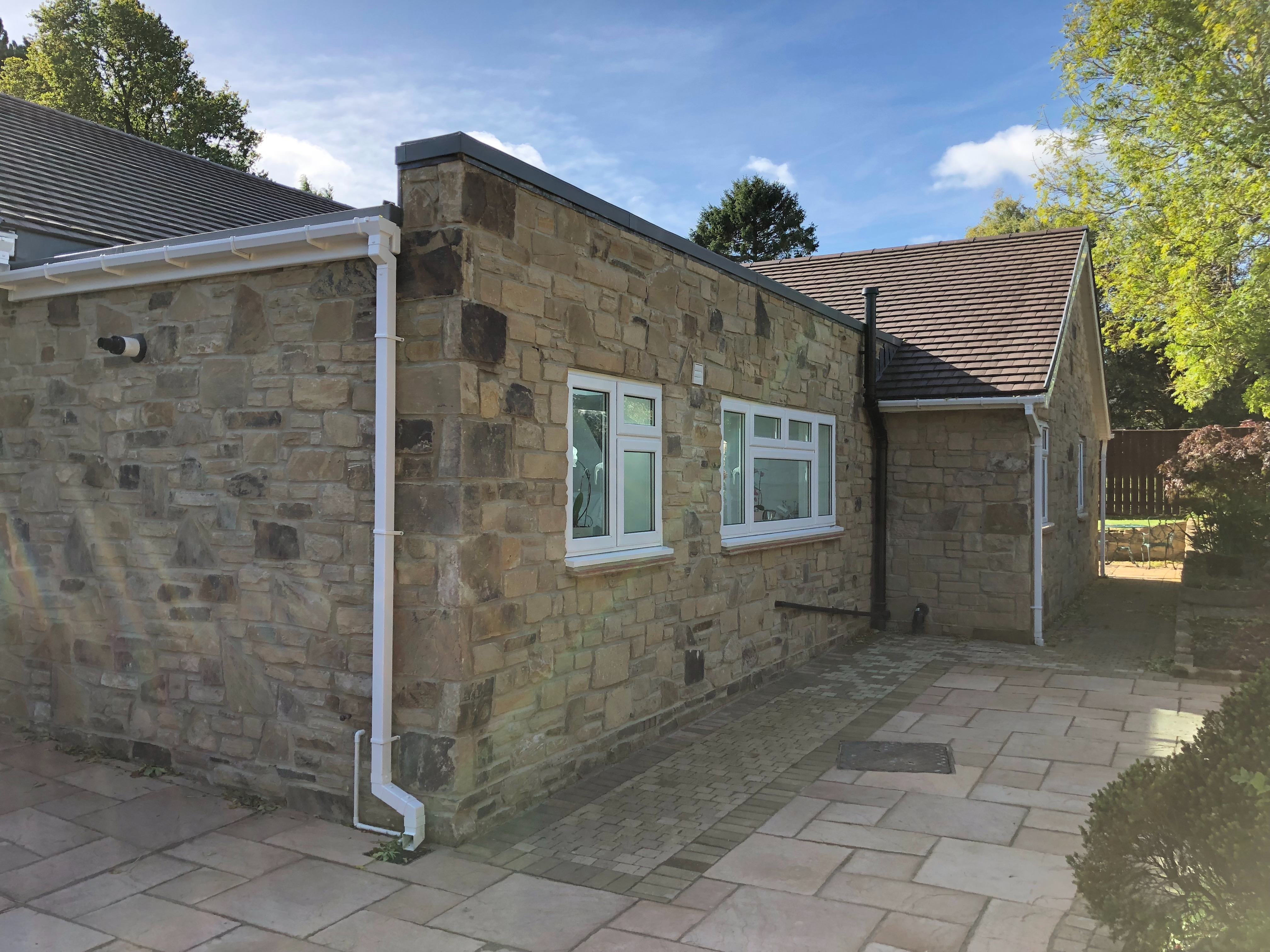 2. Stone Kitchen Extension